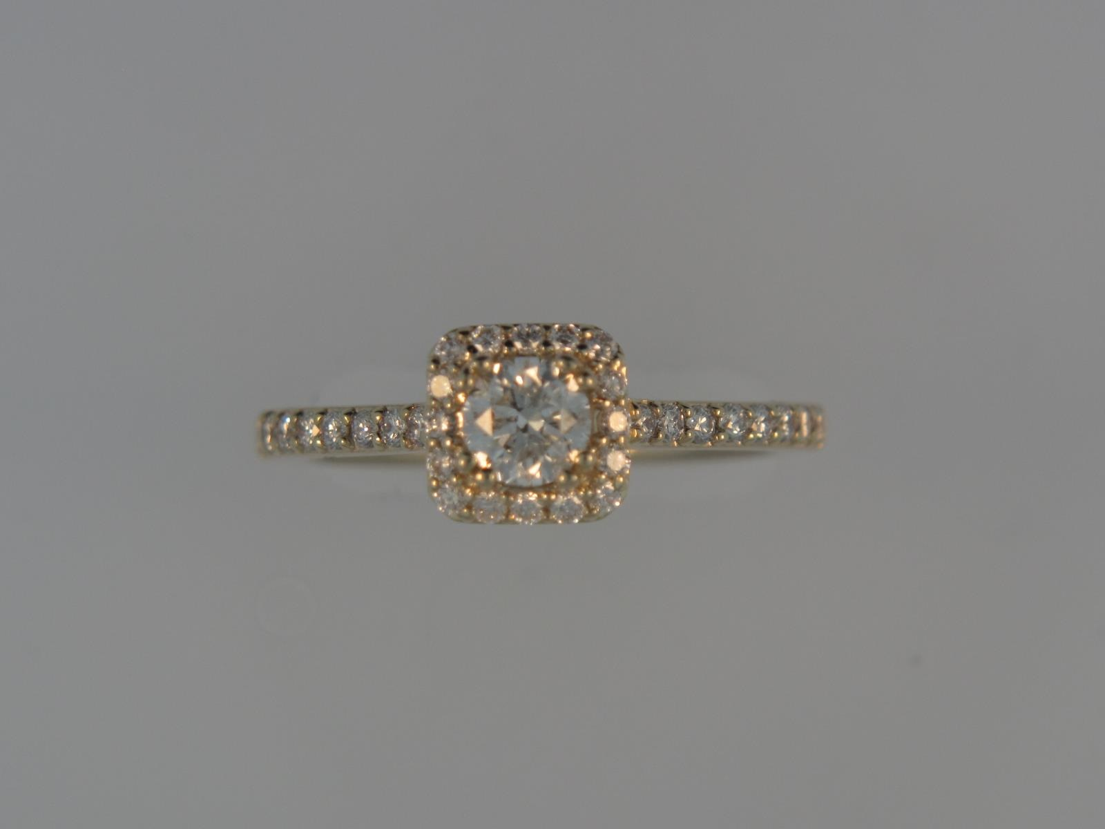Engagement Ring by Frederick Goldman