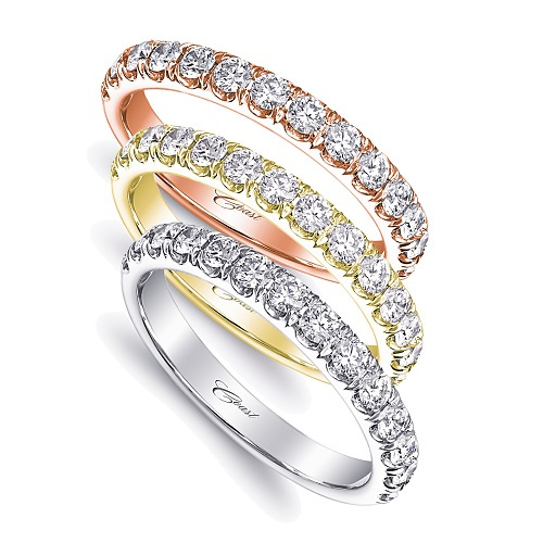 White Gold Diamond Wedding Band by Coast Diamond Jewelry