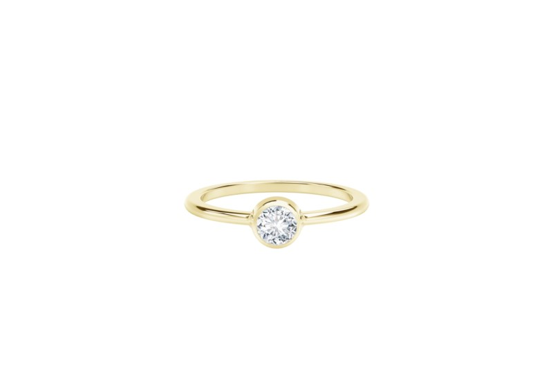 Forevermark Tribute Collection Classic Bezel Stackable Ring by Forevermark