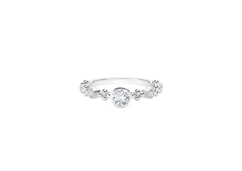Forevermark Tribute Collection Feminine Diamond Ring by Forevermark