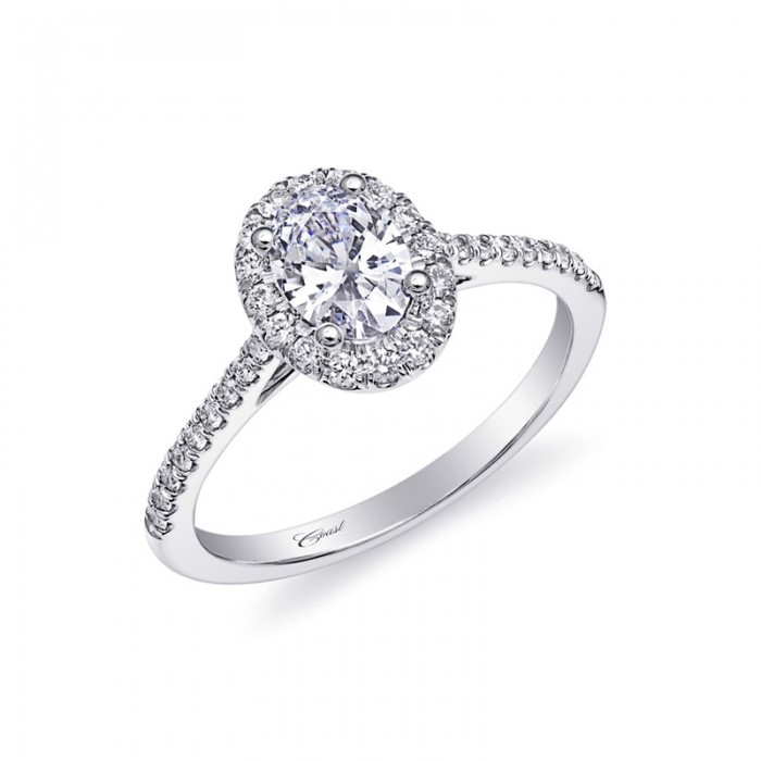 Ring Mounting by Coast Diamond Jewelry