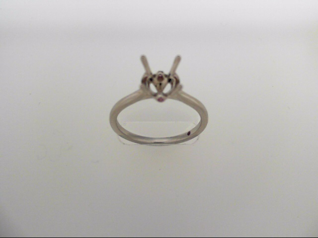 Hayley Paige Sloane Silhouette Solitaire Engagement Ring Mounting by Hearts on Fire