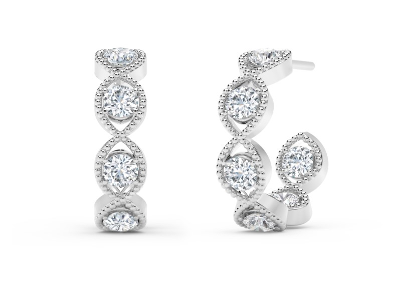 Forevermark Tribute Collection Braided Hoops by Forevermark