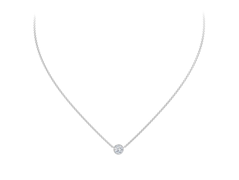 Forevermark Tribute Collection Round Diamond Necklace by Forevermark