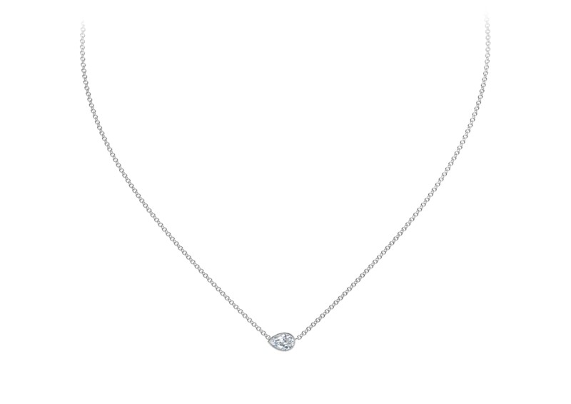 Forevermark Tribute Collection Pear Diamond Necklace by Forevermark