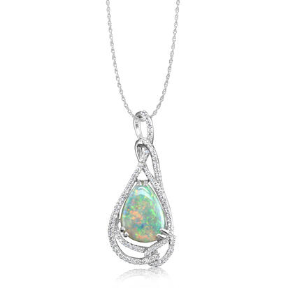 Colored Stone Pendant by Parle