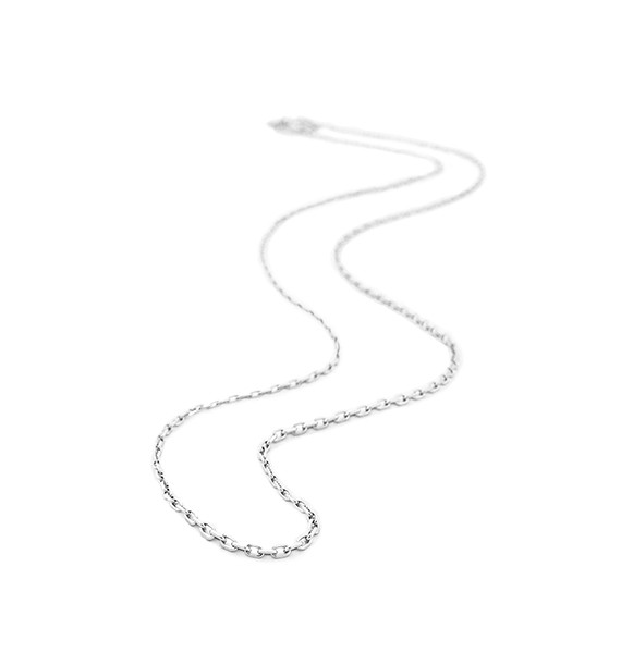 Sterling Silver Small Cable Chain by Belle Etoile