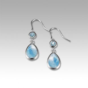 Earrings by Marahlago Larimar
