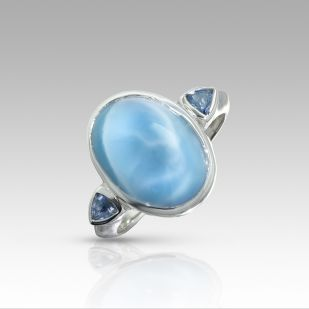 Ring by Marahlago Larimar