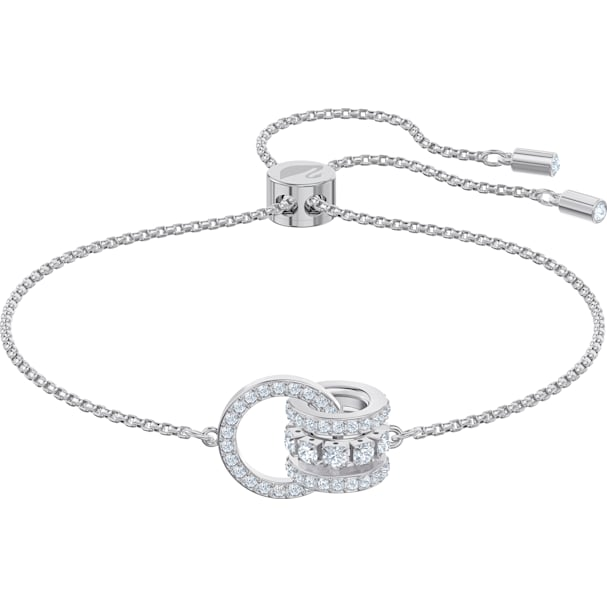 Swarovski Further Bracelet, White by Swarovski