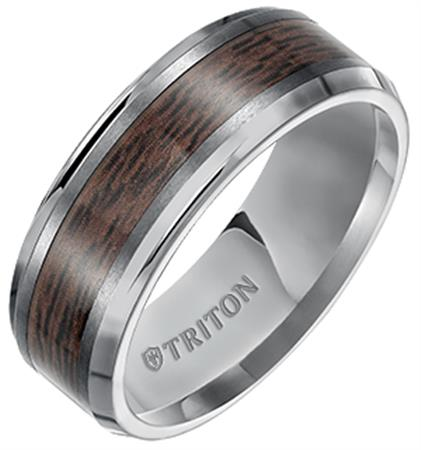 Titanium/Tungsten Carbide Wedding Bands