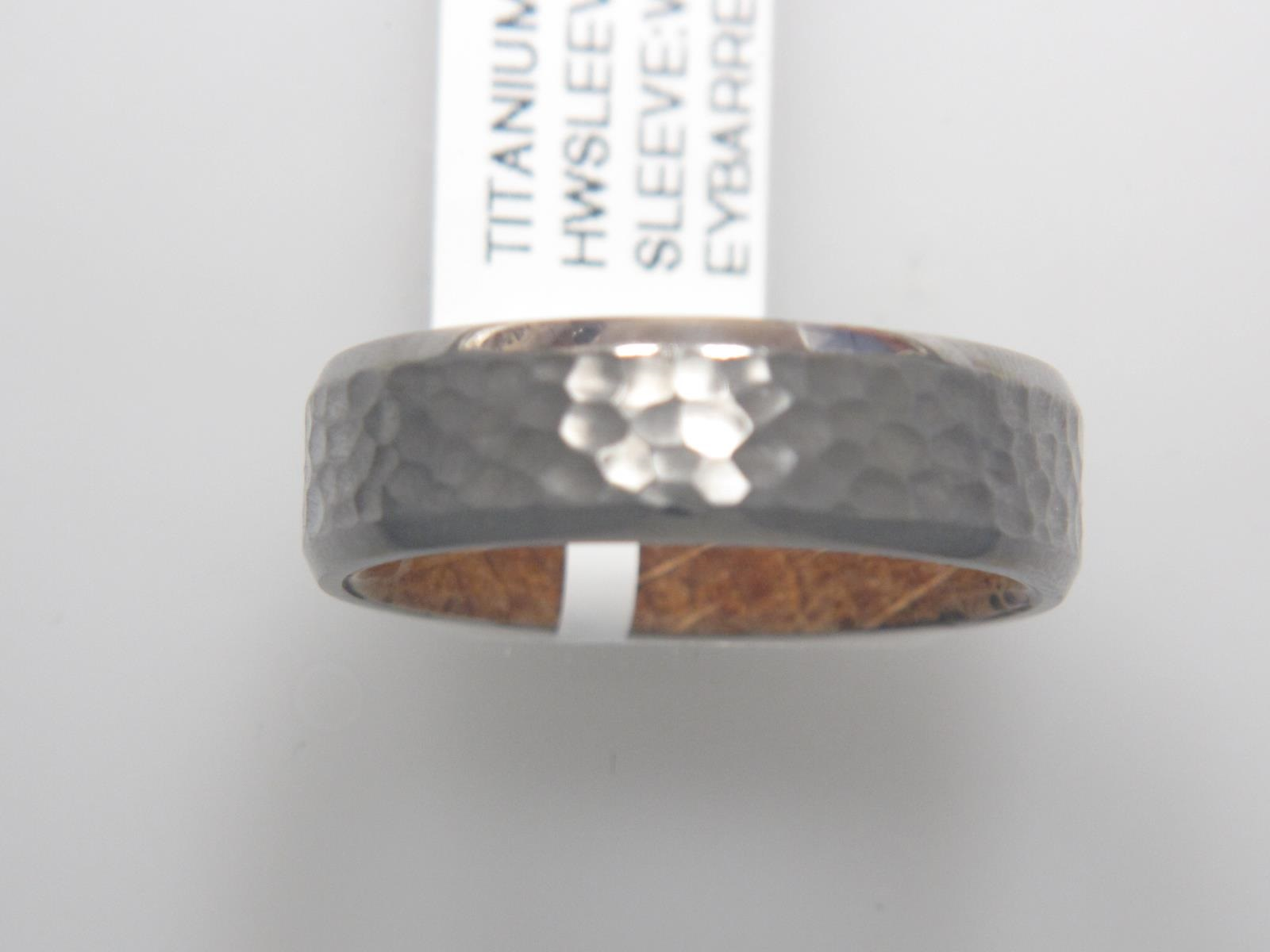 Titanium/Tungsten Carbide Wedding Bands by Lashbrook Designs