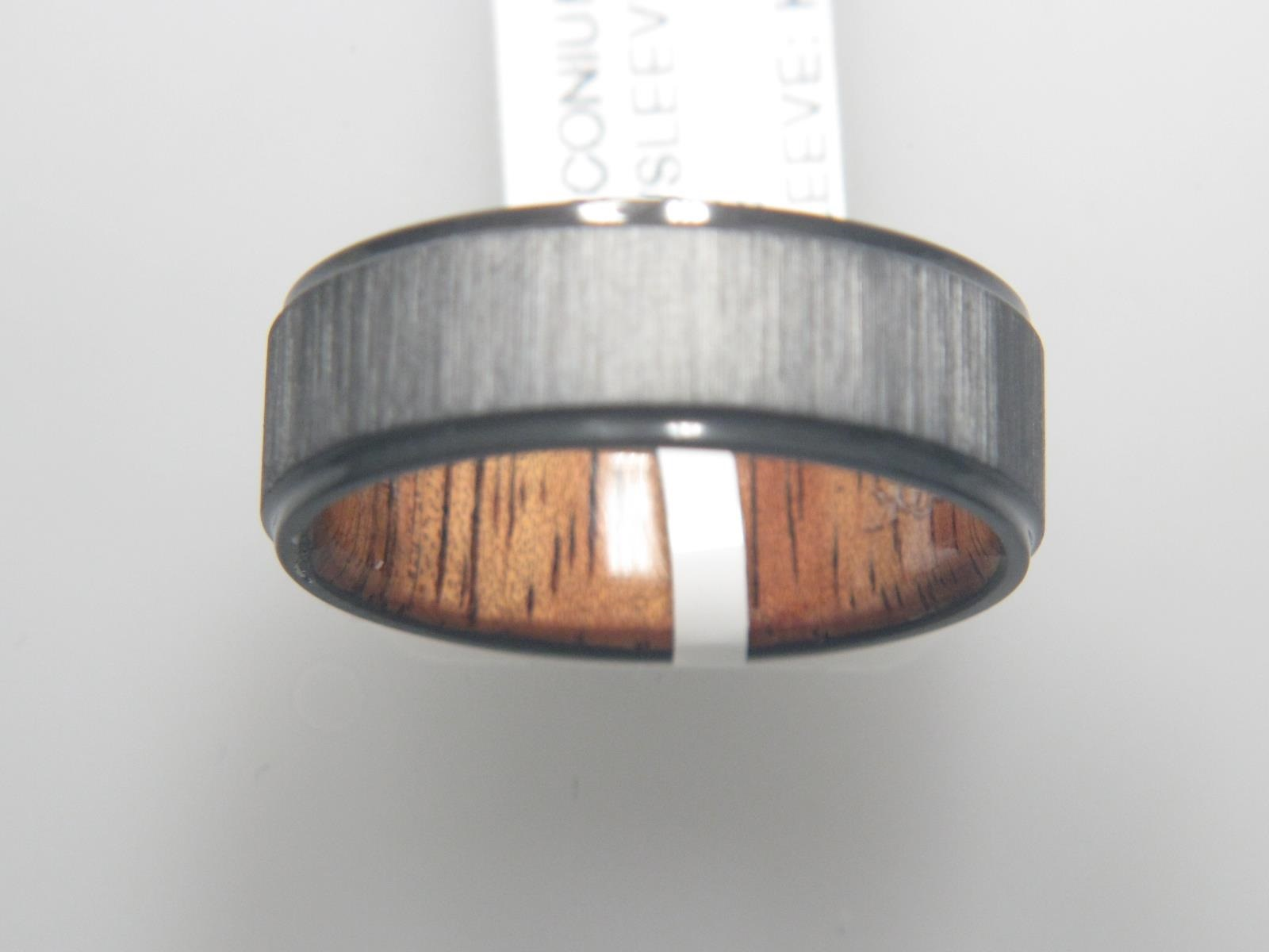 Ceramic, Zirconium Wedding Bands by Lashbrook Designs