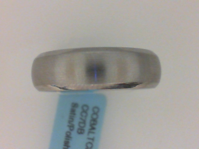 Cobalt Wedding Band by Lashbrook Designs