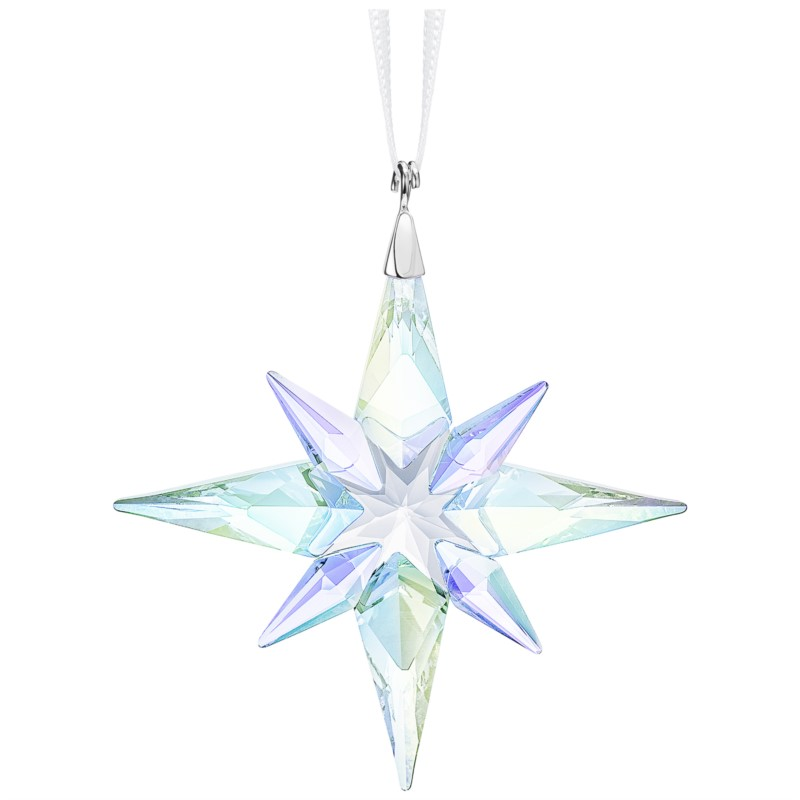 Swarovski Star Ornament, Crystal AB, small by Swarovski