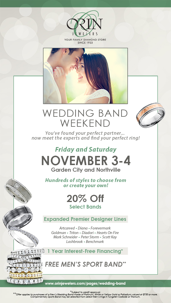 Wedding Band Weekend Orin Jewelers Detroit S Home For Fine