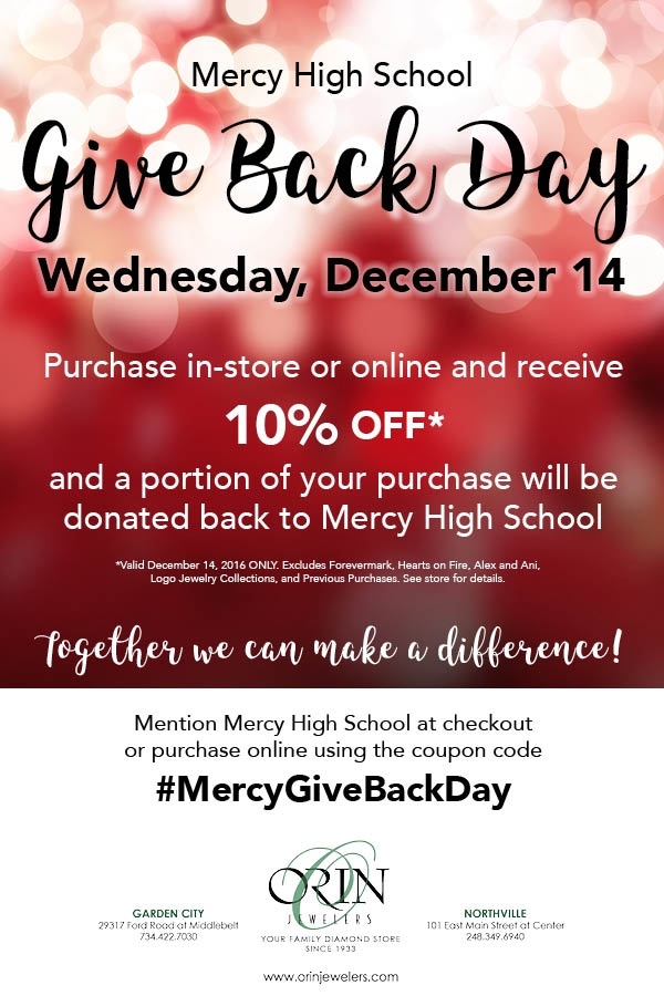 Mercy Give Back Day